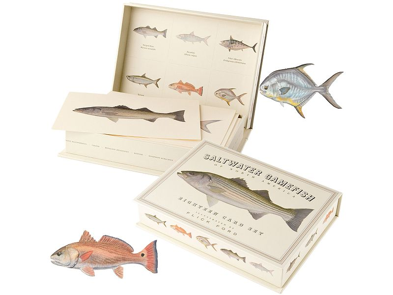 Saltwater Gamefish Eighteen Card Set