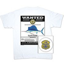 Slam Gear Sailfish Wanted T-Shirt