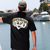Keep'n It Reel Four of a Kind T-Shirt