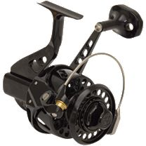 Van Staal VSB250 Bailed Spinning Reel - Black