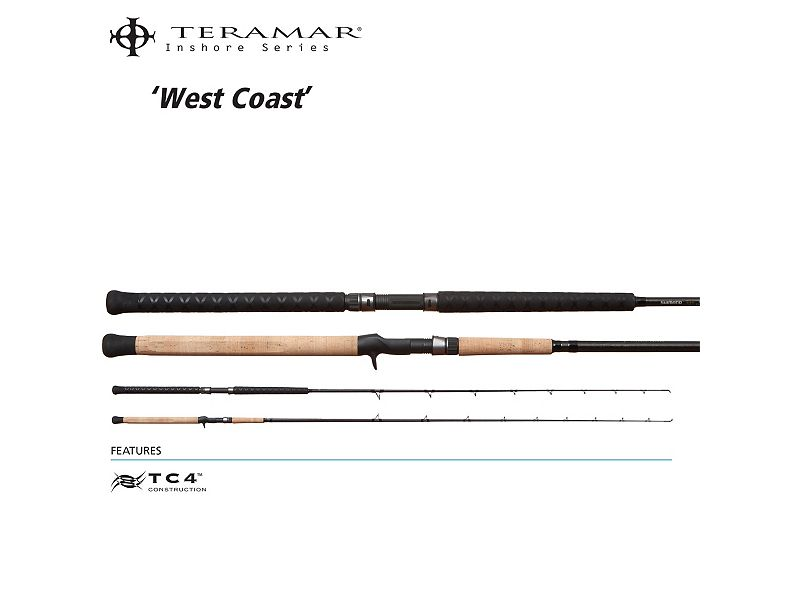 Shimano Teramar 2015 West Coast Inshore Casting Rods