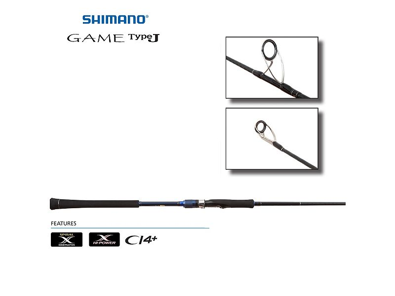 Shimano Game TypeJ Jigging Spinning Rods