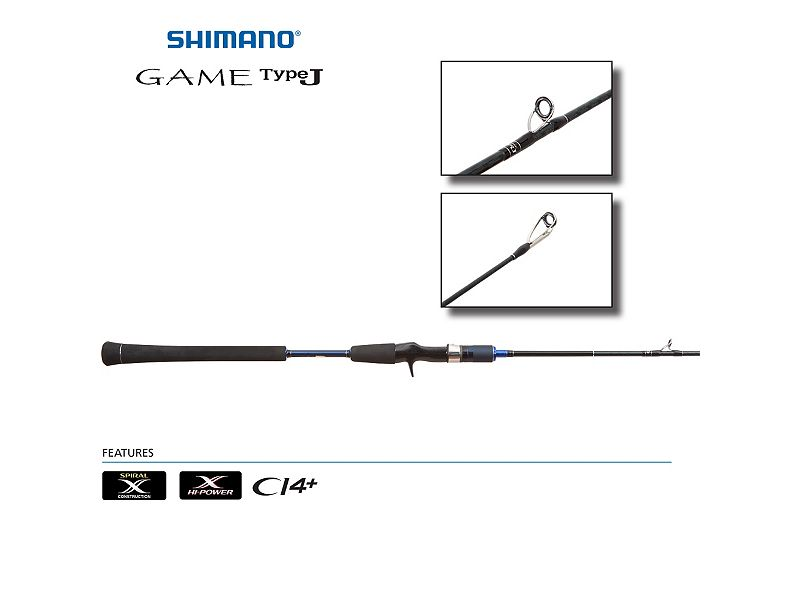 Shimano Game TypeJ Jigging Conventional Rods