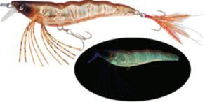 Yo-Zuri Crystal 3D Shrimp Slow Sinking - Holographic UV Rootbeer