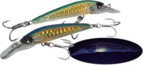 Yo-Zuri Sashimi 3D Magnum Sinking - Chameleon Green Mackerel