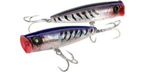 Yo-Zuri 3D Popper Floating - Purple Mackerel