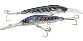 Yo-Zuri 3D Magnum Deep Diver Floating - Purple Mackerel