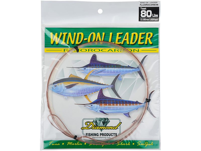 Melton Tackle Custom Fluorocarbon Wind-On Leaders