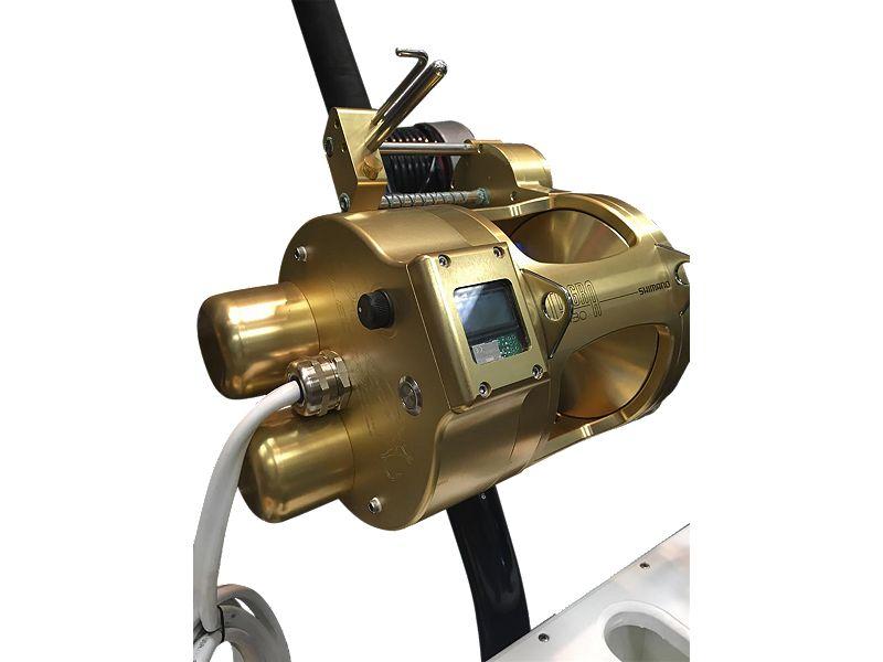 Hooker Electric Dredge Dual Motor w/Shimano Tiagra 130A Combo