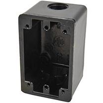 Hubbell Black Phenolic (deep) Weatherproof Box