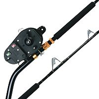 Kristal fishing reel and melton deep drop rod combos for Electric fishing rod