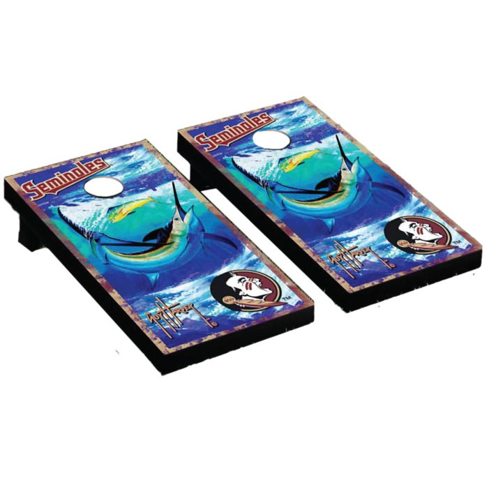 Guy Harvey Florida State Cornhole Board