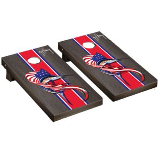 Guy Harvey Sailfish Flag Cornhole Board