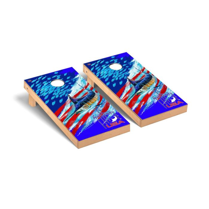 Guy Harvey USA Cornhole Board