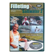 Clean Your Catch DVDs w/Vince Russo - Saltwater 2 - Inshore Fish