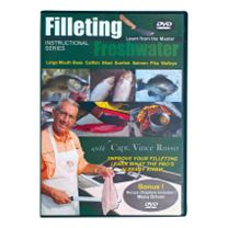 Clean Your Catch DVDs w/Vince Russo - Freshwater Fish