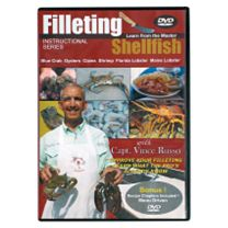 Clean Your Catch DVDs w/Vince Russo - Shellfish