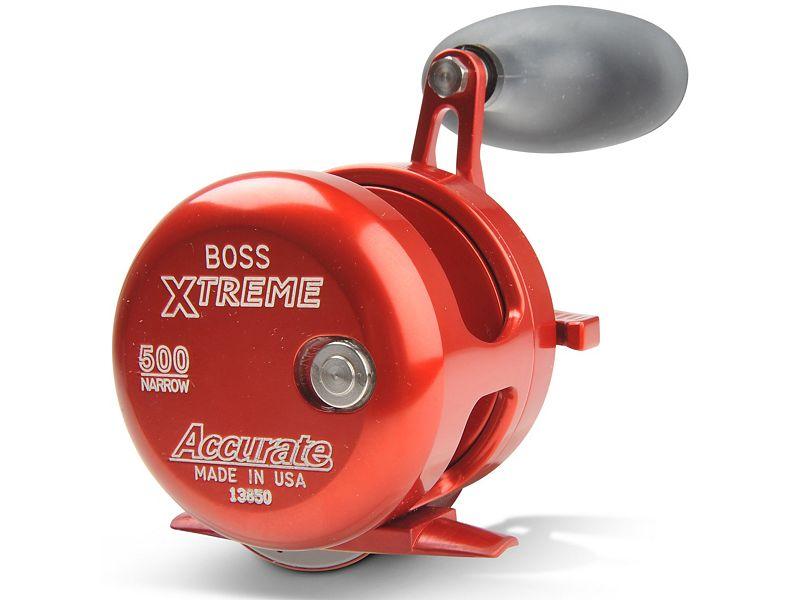 Accurate BX2-500N Boss Magnum 2-Speed Reel