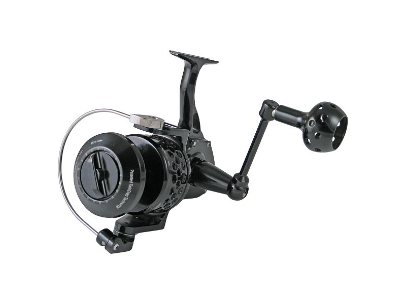 Accurate SR-12 TwinSpin Reel - Black