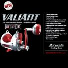 Accurate Valiant BV2L Light Line 2-Speed Series Reels