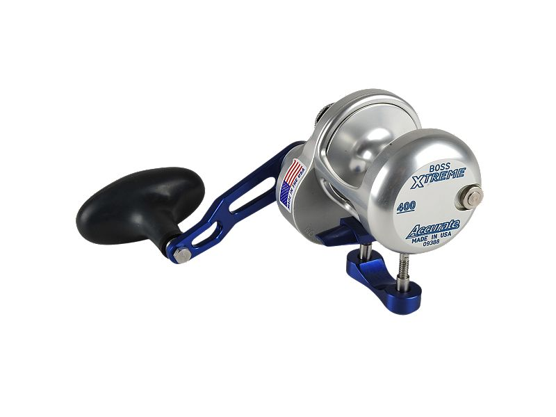 Accurate Boss BX-400X Single Speed Reel