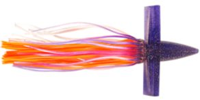 Moldcraft Hooker Soft Birds - 3 - Purple/Silver/Orange