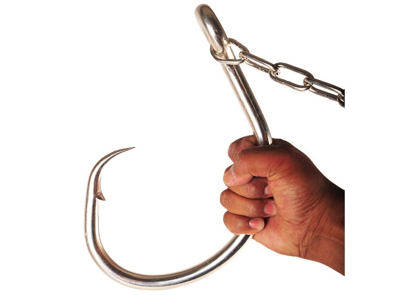 Mustad 39937NP-DT Giant Demon Perfect Circle Hook