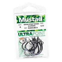 Mustad 39943NP-BN Demon Perfect Circle Hooks