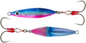 Savage Gear Squish Deep Drop Erratic Fall Jigs - Blue/Pink