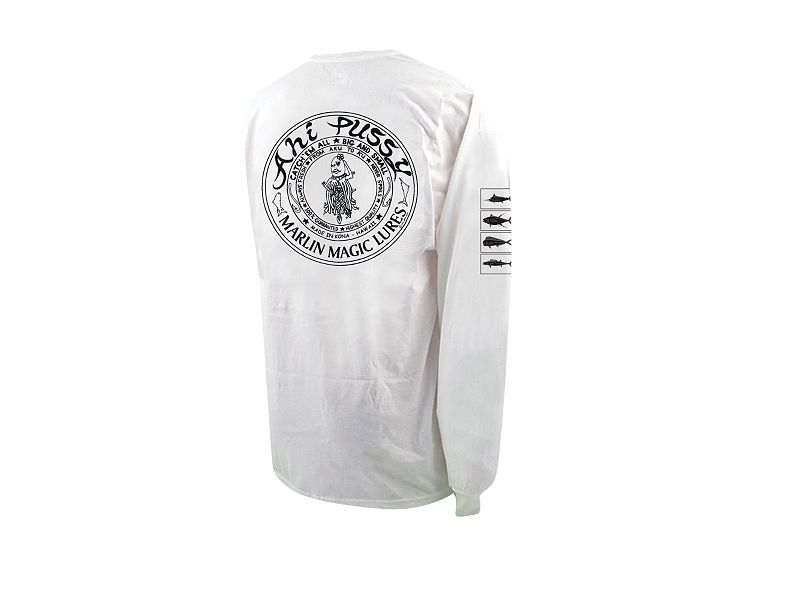 Marlin Magic Ahi Pussy Long Sleeve Shirt