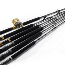 Melton Tackle Marlin and Tuna Baja Rods