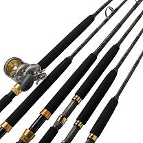 "Melton Tackle Graphite ""GTN"" Rods"