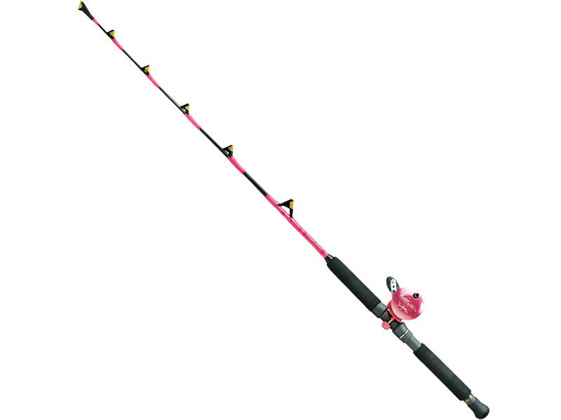Melton Tackle Mini Tuna Lifter MTL3050-Pink w/Avet MXJ-Single Speed - Pink