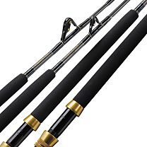 Melton Tackle Custom Calstar Graphiter All Roller Stand-Up Rods