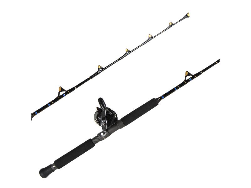 Shimano Charter Special TR2000LD/Melton Tackle Mini Tuna Lifter