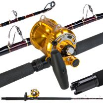 Super Seeker 2X4 w/Okuma Makaira 30II Long Range Rail Rod Combo