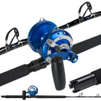 Melton Tackle Long Range Rail Rod Combos