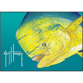 Guy Harvey Mahi Mahi Doormat