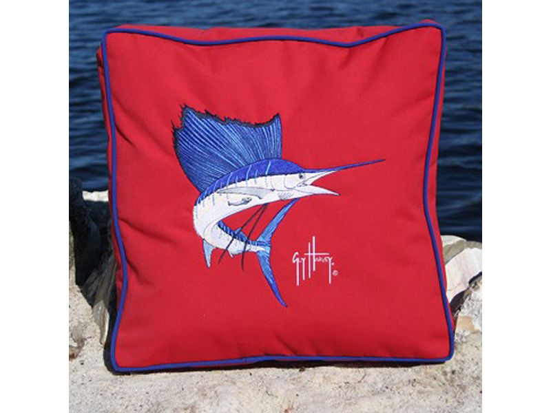 Guy Harvey Box Pillow