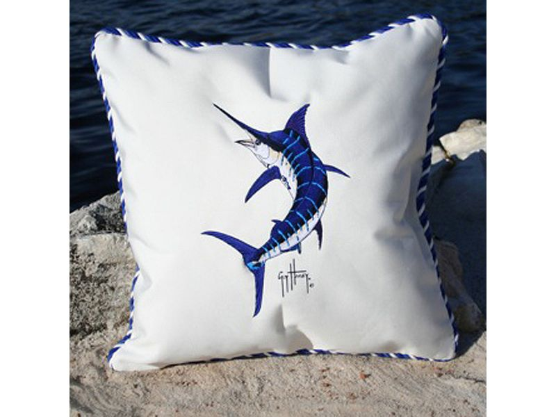 Guy Harvey Cord Pillow