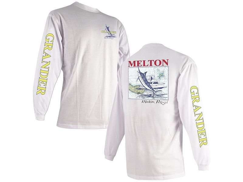 "Melton Tackle ""Grander"" Madeira Long Sleeve Shirt"