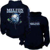 Melton Tackle 20th Anniversary Marlin Pullover Hoody