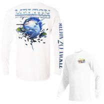 Melton Tackle 20th Anniversary Marlin Limited Edition Long Sleeve Shirt