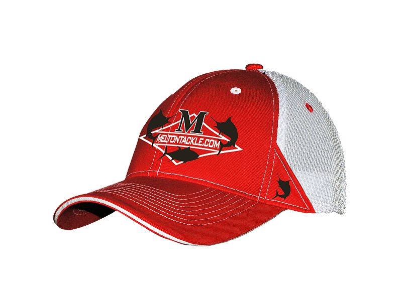 Melton Tackle Diamond Logo Trucker Hat
