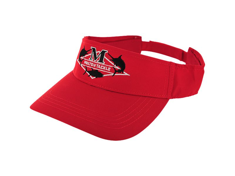 Melton Tackle Diamond Logo Visor