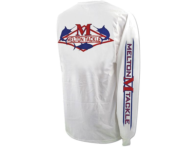 Melton Tackle Diamond Logo Long Sleeve Shirt