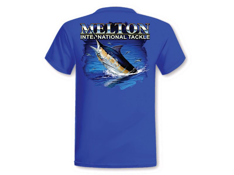 Blue Marlin Hook-Up T-Shirt