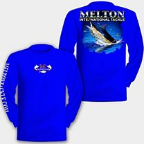 Blue Marlin Hook-Up Long Sleeve Shirt