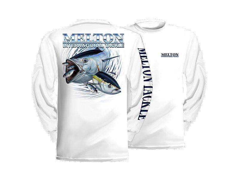 Melton Tackle Tuna Long Sleeve Shirt