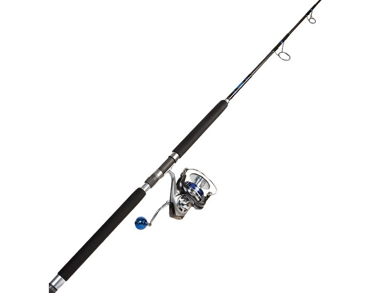 Daiwa Saltiga TG6500H w/Melton Tackle Offshore MOP86 (40-60) Popping Rod Combo